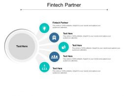 Fintech Partner Ppt Powerpoint Presentation Icon Slide Download Cpb