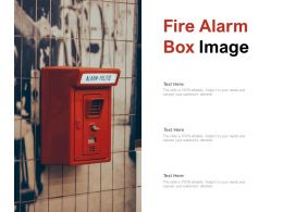 Fire Alarm Box Image