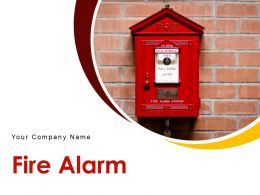 Fire Alarm Button Icon Factory Wall Centre Warning Emergency