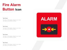 Fire Alarm Button Icon