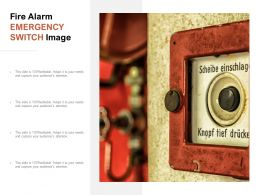 Fire Alarm Emergency Switch Image