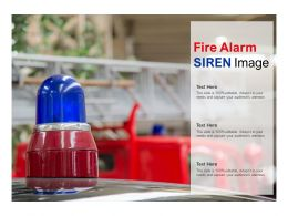 Fire Alarm Siren Image