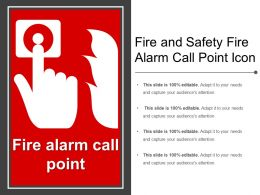Fire And Safety Fire Alarm Call Point Icon