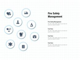 Fire Safety Management Ppt Powerpoint Presentation Portfolio Guidelines