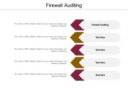 Firewall Auditing Ppt Powerpoint Presentation Icon Background Images Cpb