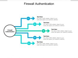 Firewall Authentication Ppt Powerpoint Presentation Pictures Tips Cpb