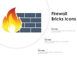 Firewall Bricks Icons