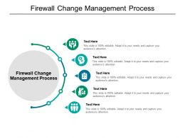 Firewall Change Management Process Ppt Powerpoint Presentation Infographic Template Gallery Cpb