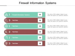 Firewall Information Systems Ppt Powerpoint Presentation Model Example Cpb