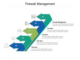 Firewall Management Ppt Powerpoint Presentation Pictures Summary Cpb