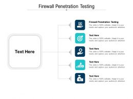 Firewall Penetration Testing Ppt Powerpoint Presentation Background Designs Cpb