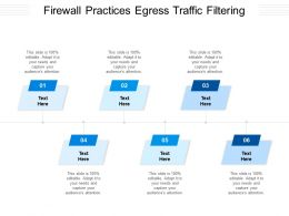 Firewall Practices Egress Traffic Filtering Ppt Powerpoint Presentation Icon Example Cpb