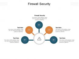Firewall Security Ppt Powerpoint Presentation Outline Graphics Tutorials Cpb