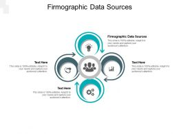Firmographic Data Sources Ppt Powerpoint Presentation File Ideas Cpb