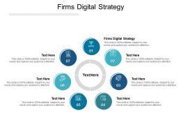 Firms Digital Strategy Ppt Powerpoint Presentation Portfolio Microsoft Cpb