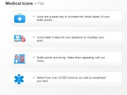 First Aid Sevice Ambulance Hospital Services Ppt Icons Graphics