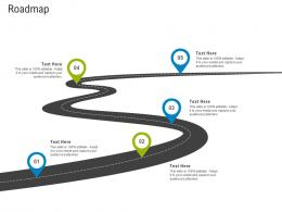 First Funding Round Pitch Deck Roadmap Ppt Powerpoint Presentation Summary Vector