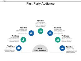 First Party Audience Ppt Powerpoint Presentation Summary Styles Cpb
