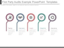 First Party Audits Example Powerpoint Templates