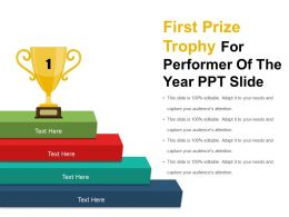 first_prize_trophy_for_performer_of_the_year_ppt_slide_Slide01