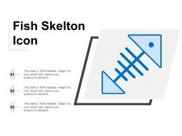 Fish Skelton Icon
