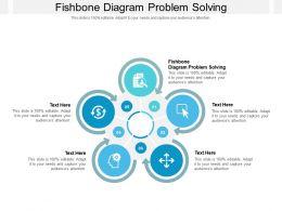 Fishbone Diagram Problem Solving Ppt Powerpoint Presentation Slides Background Images Cpb
