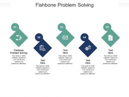 Fishbone Problem Solving Ppt Powerpoint Presentation Pictures Example Introduction Cpb