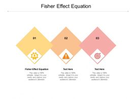 Fisher Effect Equation Ppt Powerpoint Presentation Outline Slides Cpb