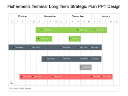 Fishermens Terminal Long Term Strategic Plan Ppt Design