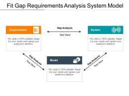 Fit Gap Requirements Analysis System Model