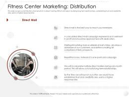Fitness Center Marketing Distribution Entry Strategy Gym Health Clubs Industry Ppt Icons