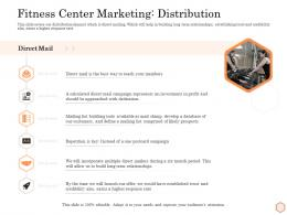 Fitness Center Marketing Distribution Wellness Industry Overview Ppt Pictures