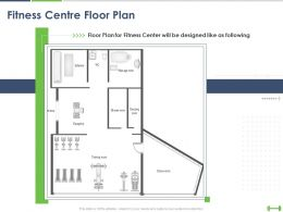 Fitness Centre Floor Plan Ppt Powerpoint Presentation Infographic Template