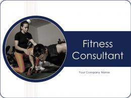 Fitness Consultant Powerpoint Presentation Slides