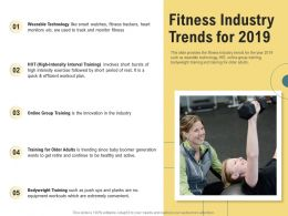 Fitness Industry Trends For 2019 Older Adults Active Ppt Powerpoint Presentation Summary