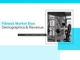 Fitness Market Size Demographics And Revenue Powerpoint Presentation Slides