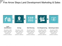 Five Arrow Steps Land Development Marketing And Sales