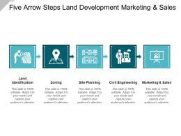 Five Arrow Steps Land Development Marketing And Sales
