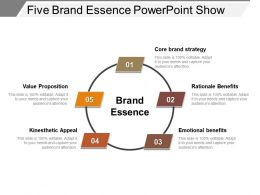 Five Brand Essence Powerpoint Show