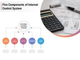 Five Components Of Internal Control System