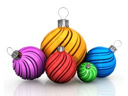 five_decorative_balls_with_variety_of_colors_stock_photo_Slide01