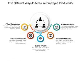 Five Different Ways To Measure Employee Productivity