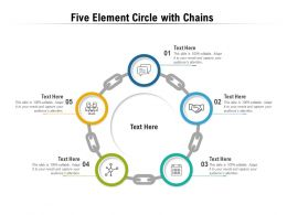 Five Element Circle With Chains