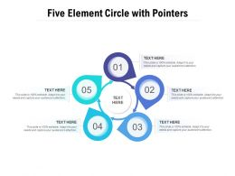 Five Element Circle With Pointers