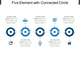 Five Element With Connected Circle