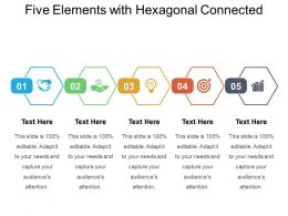 Five Elements With Hexagonal Connected
