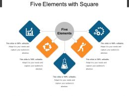 Five Elements With Square