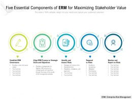 Five Essential Components Of ERM For Maximizing Stakeholder Value
