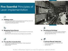Five Essential Principles Of Lean Implementation