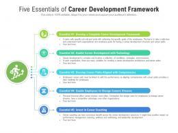 Five Essentials Of Career Development Framework